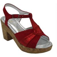 Scarpe Donna Sandali Angela Calzature ANSANGC1893rosso rosso
