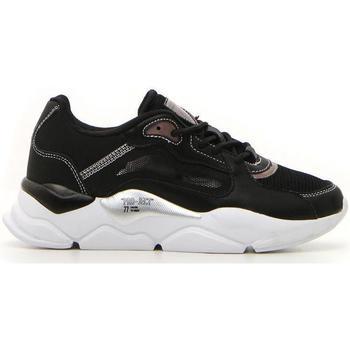 Scarpe Donna Sneakers basse Cotton Belt XCAPE NAPPA MESH GLITTER NERO