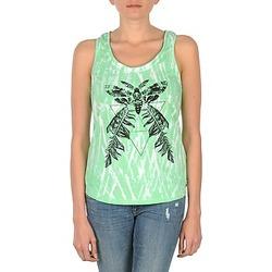 Abbigliamento Donna Top / T-shirt senza maniche Eleven Paris PAPILLON DEB W Verde / Bianco