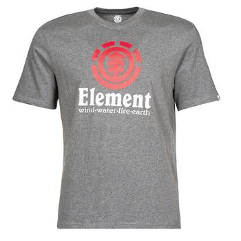 Abbigliamento Uomo T-shirt maniche corte Element VERTICAL SS Grigio