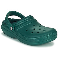 Scarpe Zoccoli Crocs CLASSIC LINED CLOG Verde
