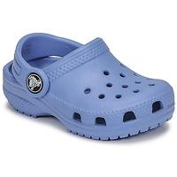 Scarpe Unisex bambino Zoccoli Crocs CLASSIC CLOG K Blu