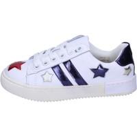 Scarpe Bambina Sneakers basse Holalà BH13 Bianco