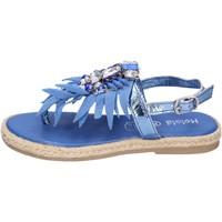 Scarpe Bambina Sandali Holalà BH18 Blu