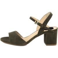 Scarpe Donna Sandali Fashion Attitude  Verde
