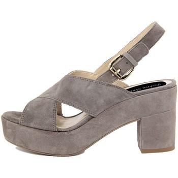 Scarpe Donna Sandali Fashion Attitude  Grigio