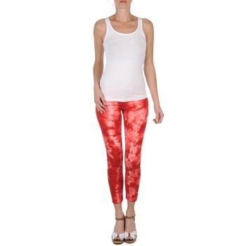Abbigliamento Donna Pinocchietto Eleven Paris DAISY Rosso / Bianco
