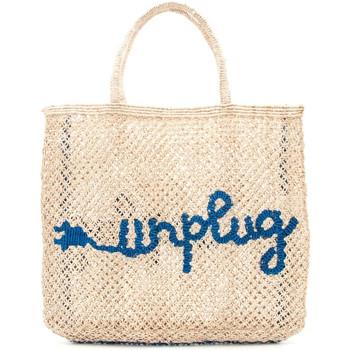 Borse Donna Tote bag / Borsa shopping The Jacksons UNPLUG BEIGE