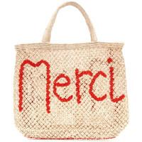 Borse Donna Tote bag / Borsa shopping The Jacksons MERCI BEIGE