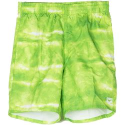 Abbigliamento Bambino Costume / Bermuda da spiaggia Arena BOXER CLOUDS RAGAZZO verde (601GREEN)