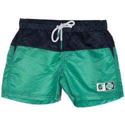 Abbigliamento Bambino Costume / Bermuda da spiaggia Frankie Garage BOXER BICOLOR 80 RAGAZZO verde (VERDEBLU)