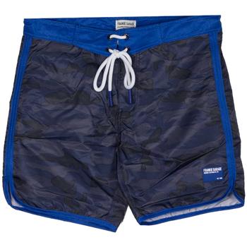 Abbigliamento Bambino Costume / Bermuda da spiaggia Frankie Garage BOARDSHORT CAMO RAGAZZO blu (UNICA)