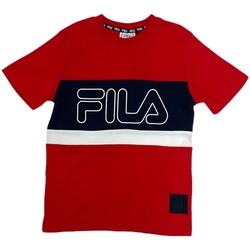Abbigliamento Unisex bambino T-shirt maniche corte Fila 688138 Rosso