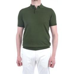 Abbigliamento Uomo Polo maniche corte Lbm 1911 19023-6410 Maniche Corte Uomo Verde Verde