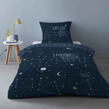 Casa Completo letto Mylittleplace SCIENCE KID Blu / Marine