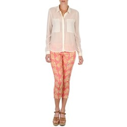 Abbigliamento Donna Pinocchietto Manoush PANTALON GIPSY JEANS Rosa