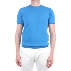 Abbigliamento Uomo T-shirt maniche corte Lbm 1911 19023-6400 Manica Corta Uomo Azzurro Azzurro