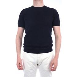 Abbigliamento Uomo T-shirt maniche corte Lbm 1911 19023-6400 Manica Corta Uomo Blu scuro Blu scuro