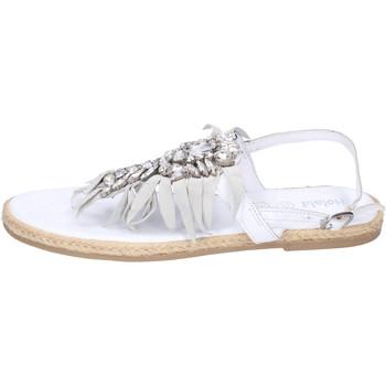 Scarpe Bambina Sandali Holalà BH20 Bianco