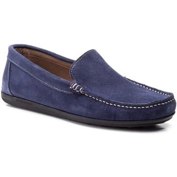 Scarpe Uomo Mocassini Iberico Shoes  Bleu