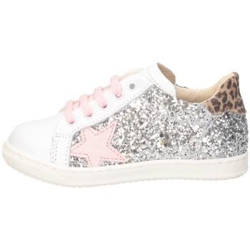 Scarpe Bambina Sneakers basse Gioiecologiche 5575 bianco/fucsia