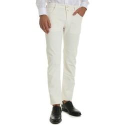 Abbigliamento Uomo Jeans slim Jacob Cohen J688 COMF 122 Jeans Uomo BIANCO BIANCO