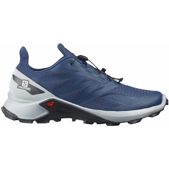 Scarpe Uomo Running / Trail Salomon SUPERCROSS BLAST Blu
