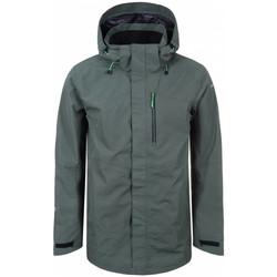 Abbigliamento Uomo giacca a vento Icepeak Lane Verde