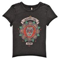 Abbigliamento Bambina T-shirt maniche corte Only KONLUCY Nero
