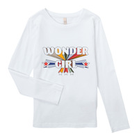 Abbigliamento Bambina T-shirts a maniche lunghe Only KONTINNA Bianco