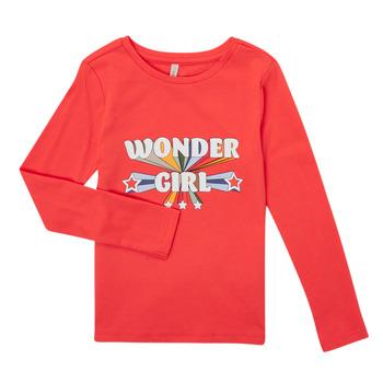 Abbigliamento Bambina T-shirts a maniche lunghe Only KONTINNA Rosa
