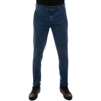 Abbigliamento Uomo Chino Fay NTM8642187L-THPU206 Denim medio