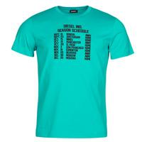 Abbigliamento Uomo T-shirt maniche corte Diesel T-DIEGOS Blu