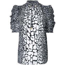 Abbigliamento Donna Camicie MICHAEL Michael Kors CAMICIA IN SETA Fantasia