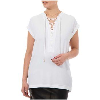 Abbigliamento Donna Camicie MICHAEL Michael Kors CAMICIA LEGGERA Bianco