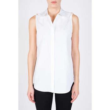 Abbigliamento Donna Camicie MICHAEL Michael Kors CAMICIA SMANICATA Bianco