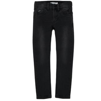 Abbigliamento Bambino Jeans slim Name it NKMPETE DNMTONSONS Nero