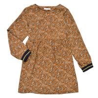 Abbigliamento Bambina Abiti corti Name it NKFKRINFRA LS DRESS Arancio