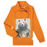 Abbigliamento Bambino Felpe Name it NKMKUVAU LS SWE Arancio