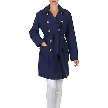 Abbigliamento Donna Trench Lola MALIN VENTO Marine