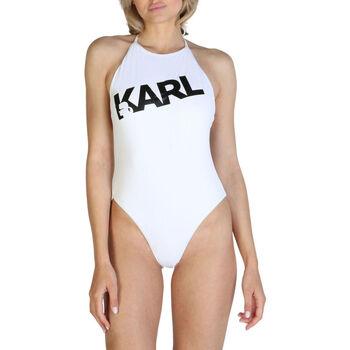 Abbigliamento Donna Costume intero Karl Lagerfeld - kl21wop03 Bianco