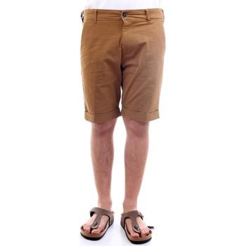 Abbigliamento Uomo Shorts / Bermuda History Lab 21P716 Bermuda Uomo cuoio cuoio