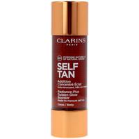 Bellezza Protezione solari Clarins Solaire Addition Concentr� �clat Auto-bronzant Corps  30