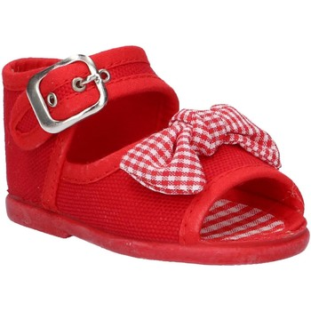 Scarpe Bambina Sandali Cotton Club CC0004 Rojo