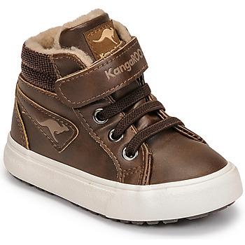 Scarpe Bambino Sneakers alte Kangaroos KAVU III Marrone