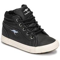 Scarpe Bambino Sneakers alte Kangaroos KAVU I Nero