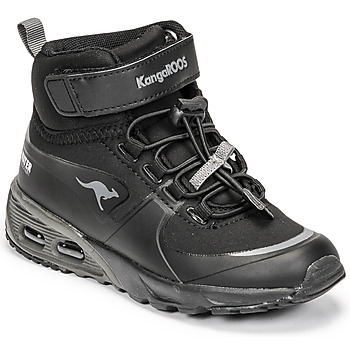 Scarpe Bambino Sneakers alte Kangaroos KX-HYDRO Nero