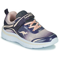 Scarpe Bambina Sneakers basse Kangaroos K-MAID GLEAM EV Blu / Argento