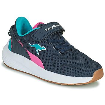 Scarpe Bambina Sneakers basse Kangaroos K-FORT JAG EV Blu