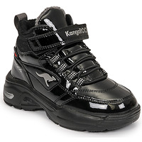 Scarpe Bambina Sneakers alte Kangaroos KC-ICY EV RTX Nero